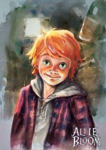 Alfie Bloom,  by Carrie Le