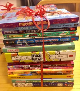 Books supplied by Scholastic UK
